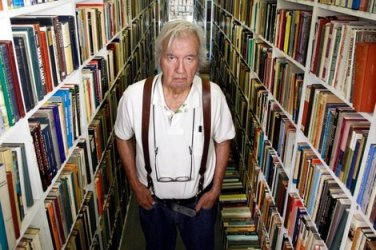 "Larry McMurtry at ""Booked Up"""